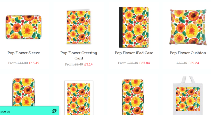 ZIPPI POP FLOWER FABROSE 3